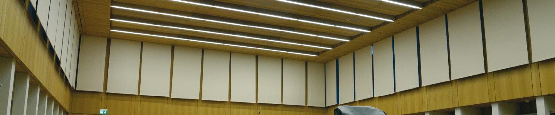 Acoustic Roller Banner