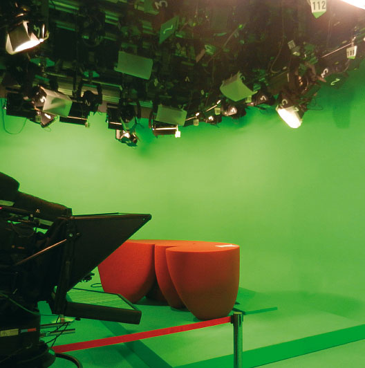 Produits studio TV & toiles d'incrustation