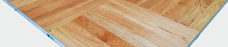 Suelos de danza de madera, portables