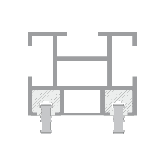 CUE-TRACK 2 neskončni sistem verige