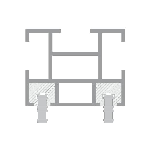 CUE-TRACK 2 Kettenzugsystem