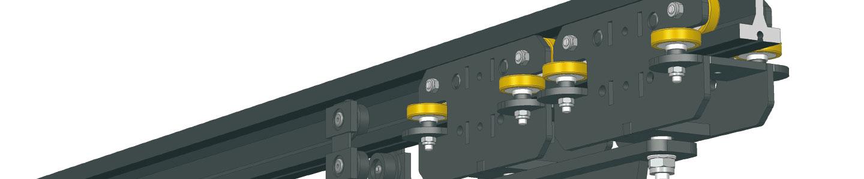 Рельсовая система JOKER 95 с электрическим приводом TRACK-DRIVE