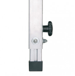 Teleskop-Steckfüße: stufenlos verstellbar