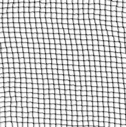 Odrska mreža 6 x 6 mm črna