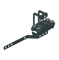 TRUMPF 95 HD Glavno nosilno kolo s pritrdilom za zgornjo vrv/roko za prekrivanje