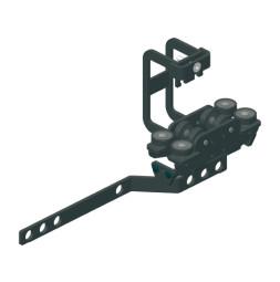 TRUMPF 95 HD glavno nosilno kolo, zgornja vrv, roka za prekrivanje