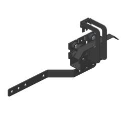 JOKER 95 Glavno nosilno kolo z roko za prekirivanje/omejevalno stikalo, zgornja vrv