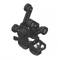 CARGO Trailing cable runner for round cables