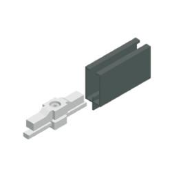 Povezovalni element za spajanje prevodniške tirnice