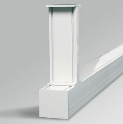 RUNWAY 1 Регулируеми скоби за монтаж на таван