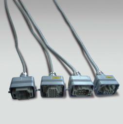 TUBE Постоянен контрол и захранващ кабел