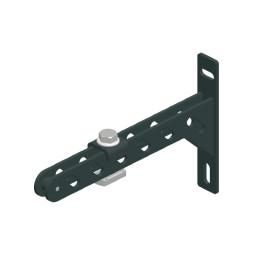 CUE-TRACK 2  Монтажна скоба за стена