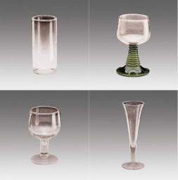 Чупливо стъкло GERO Водна чаша