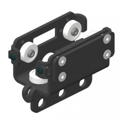 BELT-TRACK cărucior trăgător cu prindere de curea (dințată)