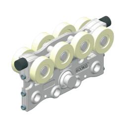 CARGO - cărucior pentru sarcină grea - tip (model) B, sarcină (capacitate de incarcare): 600 kg