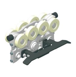 CARGO - cărucior pentru sarcină grea cu comutator de limitare - tip (model) B, sarcină: 600 kg