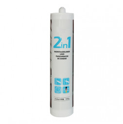 THE WALL Special glue for installation and joint filler, white
