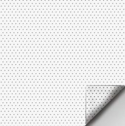 Elölről vetíthető felület OPERA® fehér perforált