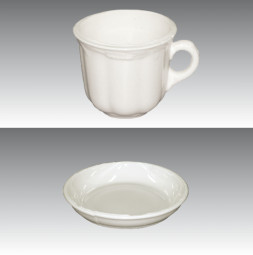 Break Away Glass GERO Cup / Saucer