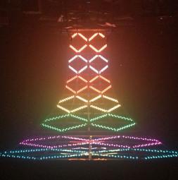 Show LED závěs ANIMATION HYBRID