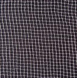 Jevištní síťovina 6 x 6 mm B1 bílá
