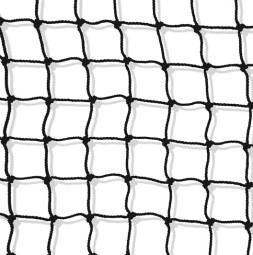 Jevištní síťovina 20 x 20 mm B1 černá