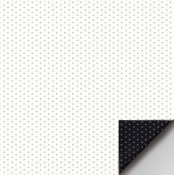 Projekční fólie pro přední projekci SCENE dírkovaná bílá 190