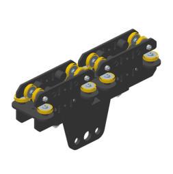JOKER 95 Vodící robustní vozík 150