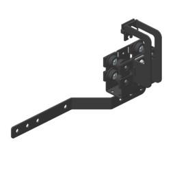 JOKER 95 Vodící vozík s překryvem, horní vedení lana
