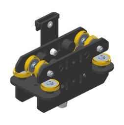 JOKER 95 Vodící vozík pro větší zátěž, boční vedení lana