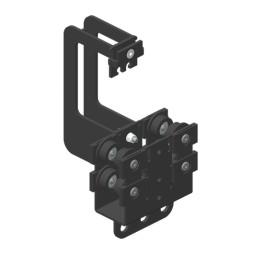 JOKER 95 Vodící vozík, dvojité horní vedení lana