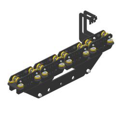 JOKER 95 Vodící robustní vozík 260, dvojité horní vedení lana