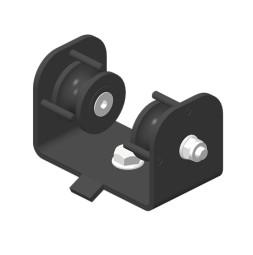 JOKER 95 Horizontální kladka, dvojité horní vedení lana