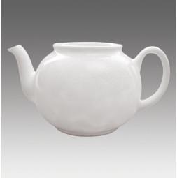 Divadelní sklo GERO, Konvice na čaj 0,5 L bílá