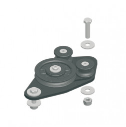 Return Pulley KING, Top Cord
