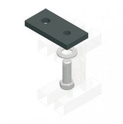 Off-Set Mounting Plate KING