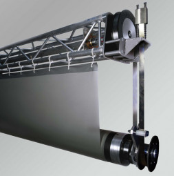 Roller screen system carbon MEGASCREEN TOUR