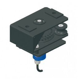KING Return Return Pulley with Integrated Incremental Encoder for Bottom Cord Operation