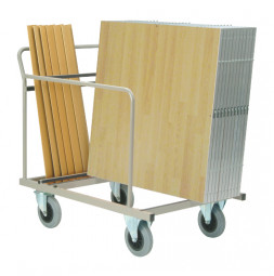 Transport cart for 25 dance  floor sections