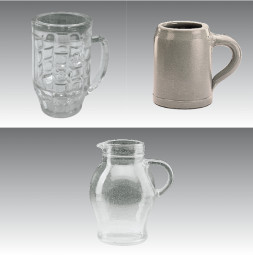 Break Away Glass GERO Beer Mugs 1,0 l