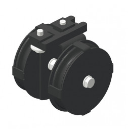CARGO MICRO Head Pulley (downwards) for bottom cord operation