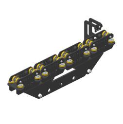 JOKER 95: Carro HD 260 con fijación de cuerda, guiado superior