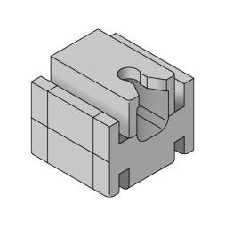 ELEGANCE: Placa de montaje en el techo
