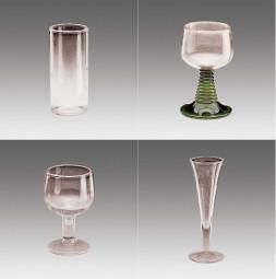 Cristal de resina GERO: Vasos