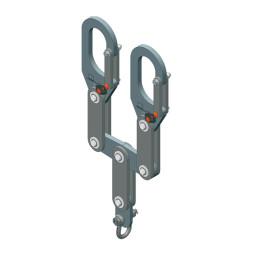 Balancín de carga de 2 segmentos