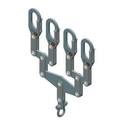 Balancín de carga de 4 segmentos