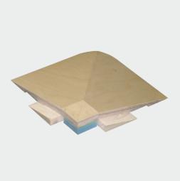 VARIO ERGODANCE Profilé-plinthe raccord d'angle 90°