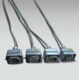 MEGASCREEN Kit rallonges câble d'alimentation et de commande