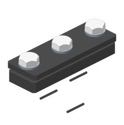 BELT-TRACK Raccord de rail