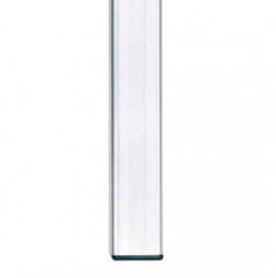Pieds fixes : embout non réglable 60x60x3 mm